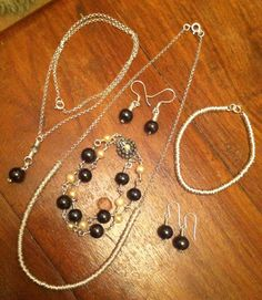 Sterling silver and pearl jewellery