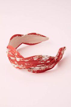 Rohini Wrapped Headband   Anthropologie UK Ruby Bracelet, Ruby Necklace, Ruby Jewelry, Ruby Earrings, Birthstone Necklace, Jewelry Gifts, Cuff Bracelets, July Birthstone, Hair Accessories Uk