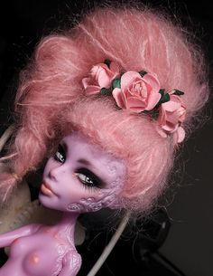 Monster High Operetta Custom Repaint Reroot[fs] | Flickr - Photo Sharing!
