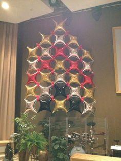 Balloon Diamond wall