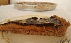 Tarta czekoladowo-karmelowa. Przepis na http://simplysweet.pl/?p=1261