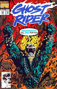 Great Ghost Rider Comic Covers: Ghost Rider #23 #ghostrider #marktexeira