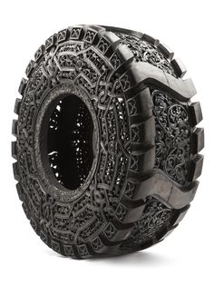 Carved Tyres • wimdelvoye.be • inspiration for my new body of work