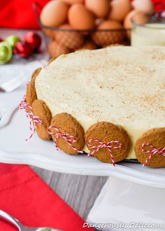 A creamy no-bake eggnog pie on top of a gingersnap crust is just what you need to include in your spread of desserts this Christmas. Thank goodness no one is counting calories (yet) so you can indu...