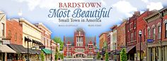 """Bardstown, Kentucky Named """"Most Beautiful Small Town in America"""" by Rand McNally & USA Today"""