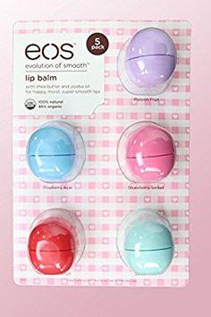 EOS - Lip Balm Organic Lip Smooth Sphere Balsam (5 pack)