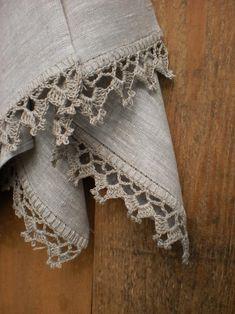 Dish towels Kitchen towels Hand towels Linen towels set Rustic wedding towels Rustic towels – Cute and Trend Towel Models Crochet Edging Patterns, Crochet Lace Edging, Crochet Borders, Crochet Doilies, Crochet Stitches, Free Crochet, Knitting Patterns, Knitting Tutorials, Loom Knitting