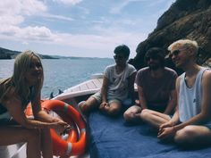 What better way to kick of the Ibiza Rocks season than with @yearsandyears, @thewhitmore and a boat?! #ibizarocks