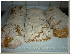 Le Ricette della Nonna: Pane ciabatta con farina di farro integrale Ciabatta, Pane, Breads, Pizza, Food, Eten, Meals