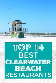Want to know where the locals eat in Clearwater Beach? Take it from a local, these restaurants are the BEST places eat on Clearwater Beach! Visit Florida, Florida Vacation, Florida Travel, Vacation Places, Vacation Trips, Vacation Spots, Rv Travel, Vacation Ideas, Travel Guide