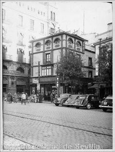 Fotos de la Sevilla del Ayer (IV). Seville Spain, Street View, Patio, History, World, City, Places, Vintage, War