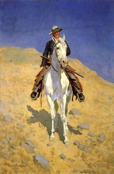 Image detail for -Oil Paintings sale - frederic remington paintings - frederic ...