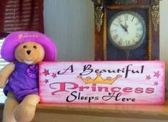 diy princess signs for girls | princess_sign_girls_room_girls_baby_nursery_sign_girls_bedroom_sign ...