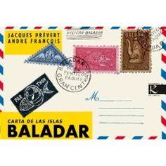 Carta de las Islas Baladar. Jacques Prèvert. +9.