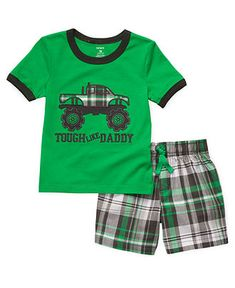 Carters Baby Set, Baby Boys Two-Piece Tee and Shorts - Kids Baby Boy (0-24 months) - Macys