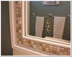 tile frame on mirror - Google Search