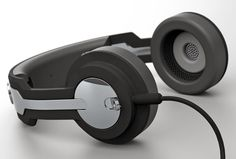 """Check out """"Twin Headphones Concept by Roel Deden"""" Decalz @Lockerz"""