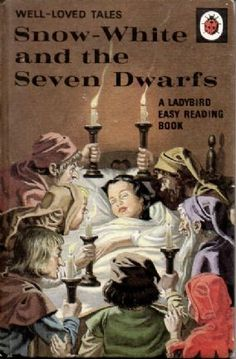 Vintage Ladybird Book Well Loved Tales Series Matt Hardback - this scene creeps me out.more innocent times sadly 1970s Childhood, My Childhood Memories, Easy Reading Books, Snow White Seven Dwarfs, Ladybird Books, Up Book, Book Art, Vintage Children's Books, Childrens Books