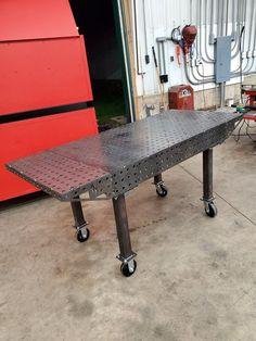 Welding Table Diy, Welding Shop, Welding Crafts, Welding Tools, Welding Projects, Diy Table, Metal Welding, Welding Equipment, Welding Ideas