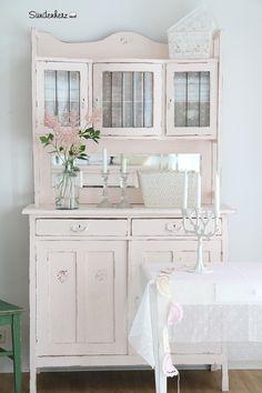 Küchenbuffet In Mint, Shabby Chic Schrank, Antiker Küchenschrank | Hutch |  Pinterest | Vintage Shabby Chic And Shabby