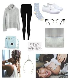 """""""Day w/ JC and Wishbone"""" by jacqueline133 ❤ liked on Polyvore featuring Madewell, M&S Collection, Vans, GlassesUSA, Benson-Cobb Studios, Katie Mullally, women's clothing, women, female and woman"""