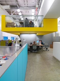 JWT (Advertising Agency) Headquarters, New York, Clive Wilkinson Architects