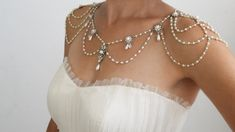 Necklace For The SHOULDERS 1920s Inspiration.    oh wow!