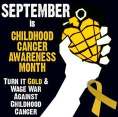 Haven: Neuroblastoma Cancer and ROHHAD Syndrome: SEPTEMBER -- CHILDHOOD CANCER AWARENESS MONTH