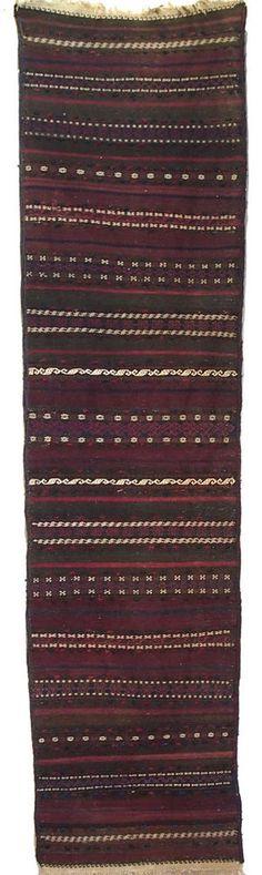 305x80 cm antik orientalich belotsch kelim Teppich nomad kilim Afghanistan No:2