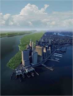 Manhattan Then and Now
