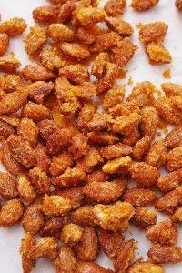 Brända mandlar med saffran   Sweet and Simple