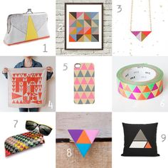 Gifts for Mom triangles