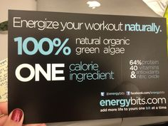 """""""I would definitely recommend them if you're looking for a healthy, natural way to get some added energy"""""""