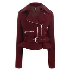 I would love this McQ biker jacket!