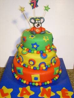 Chuck E Cheese birthday cake Cakes by Sarahs Sweets Pinterest