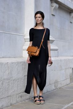 Blogger Hedvig from [Northern Light] | Dress (Cos). Sandals (Michael Kors). Bag (Phillip Lim). Sunnies (Ray-Ban).