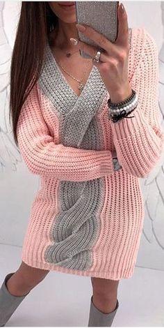 crochet dress outfits Sizlere rg rerken fikir verecek ok gzel modellerin yapln hazrladk. ok beeneceinizi dndmz 80 den fazla i rg kazak modelleri. Crochet Dress Outfits, Knit Dress, Crochet Shirt, Knit Crochet, Diy Vetement, Lace Knitting Patterns, Outfits With Hats, Crochet Fashion, Cable Knit Sweaters