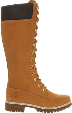 Timberland 14 Inch Premium Nubuck Leather Boots - for Women