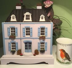 Excited to share the latest addition to my #etsy shop: 1:48, French Chateau style, dolls house with display stand.