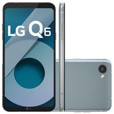 b5433127f6f Smartphone LG Q6 LGM700 32GB Câmera 13MP Tela FullVision 5.5