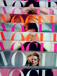 UNKNOWN PHOTOGRAPHER, VOGUE MAGAZINES: is there a girl that doesn't - at some point - get a little enchanted by vogue?