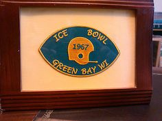 WORLD NFL FAMOUS ICE BOWL PATCH,FROZEN TUNDRA GREEN BAY PACKERS WISC