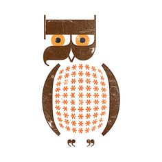 Owl by One Little Bird Studio