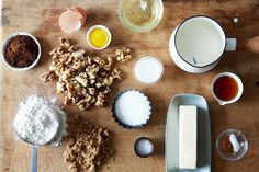 The Walnut Variation: A Cake