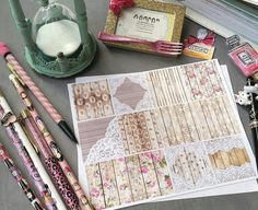 Planner Stickers Heidi Swapp Memory Planner by theREESEboutique