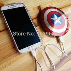 6800mAh-Captain-America-Shield-Power-Bank-For-Iphone-6-Samsung-S5-Dual-USB-Mobile-Charger-External.jpg (536×536)