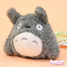 Totoro Mini Plush with suction cup