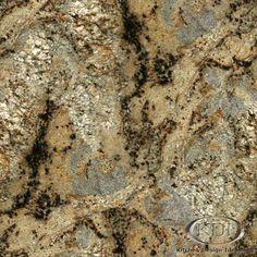 """Golden Crystal"" Granite - Kitchen Countertop Ideas"