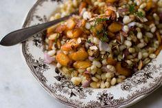 Carrot, Dill, & White Bean Salad
