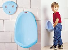 for the little man potty training in the house